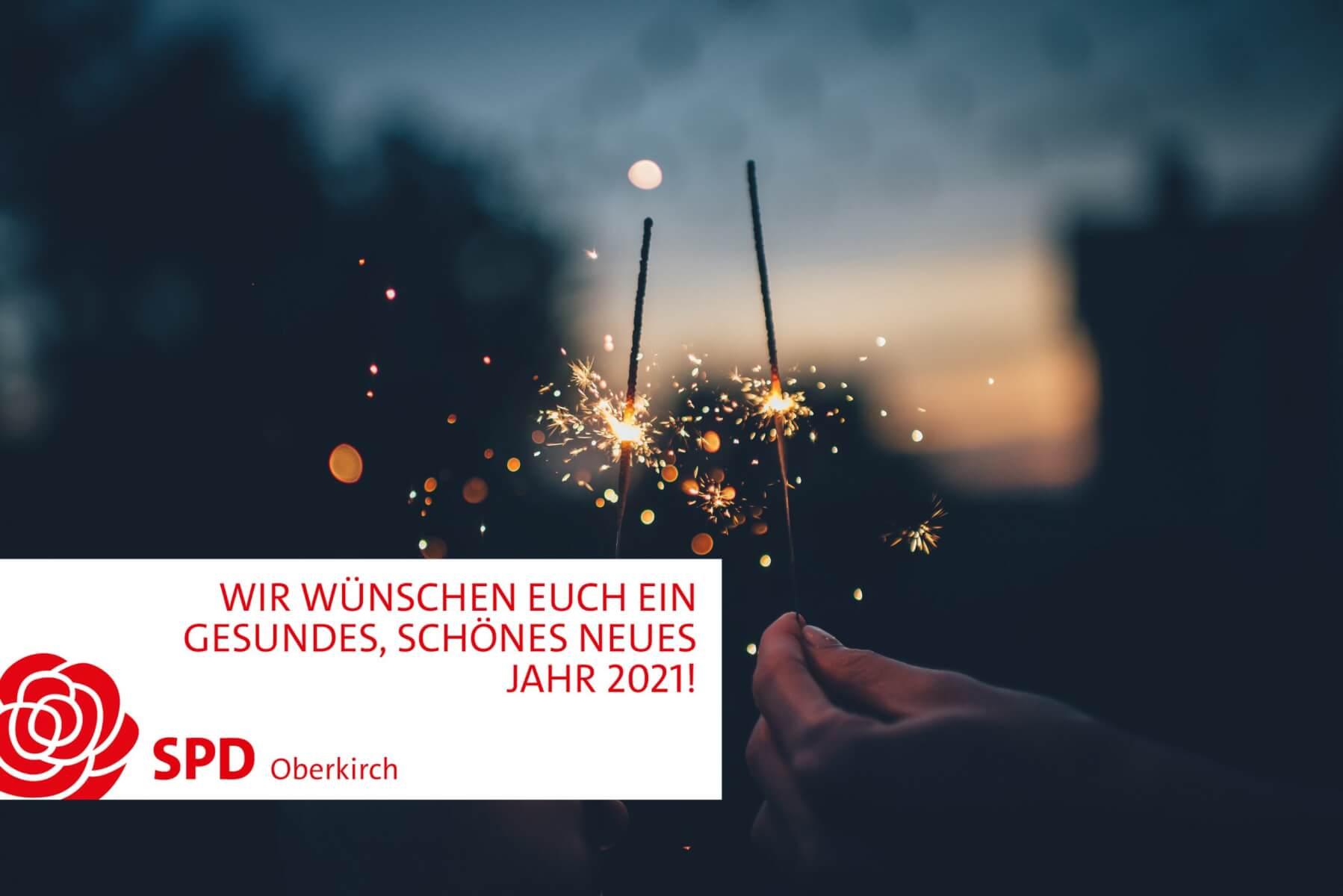 SPD Oberkirch Neujahrswünsche 2021